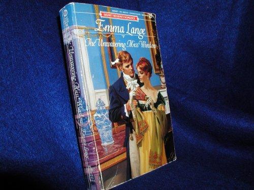 The Unwavering Miss Winslow By Emma Lange
