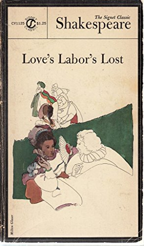 Shakespeare : Love'S Labor'S Lost (Sc) By William Shakespeare