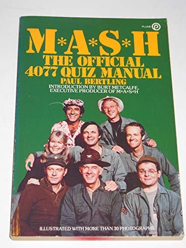 M.A.S.H. 4077 Quiz By Paul Bertling