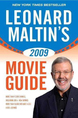 Leonard Maltin's Movie Guide 2009 By Edited by Leonard Maltin