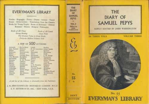 The Diary By Samuel Pepys