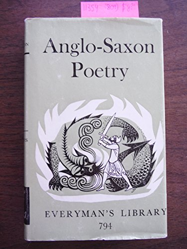Anglo-Saxon Poetry By Edited by R. K. Gordon