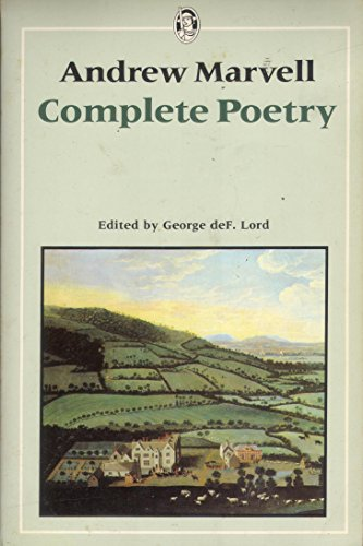 Complete Poetry By Andrew Marvell
