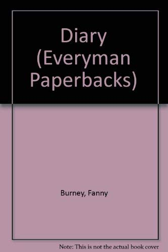 Diary By Fanny Burney