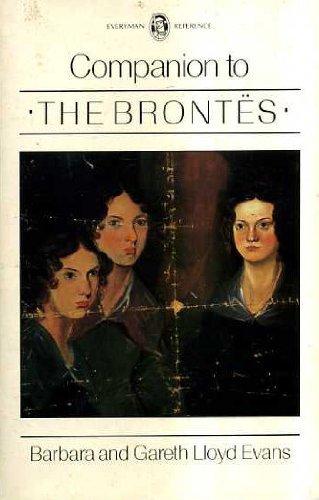 Everyman's Companion to the Brontes By Barbara Lloyd Evans