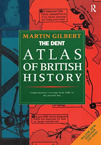 Atlas British Hist By Martin Gilbert