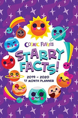 Cosmic Funnies Small 2019-2020 Planner By Jacqueline Moliner