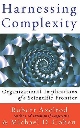 Harnessing Complexity By Michael Cohen