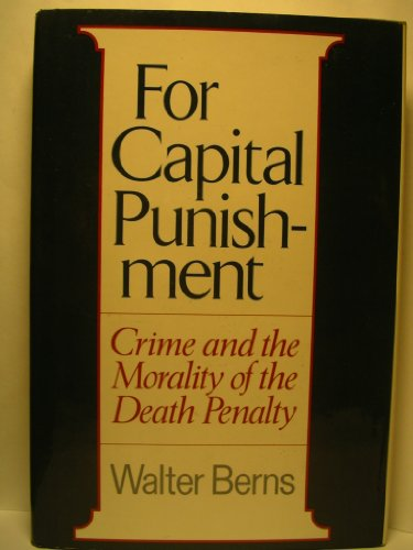 For Capital Punishment By Berns