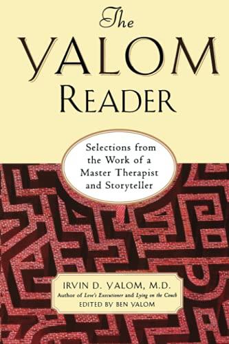 The Yalom Reader By Irvin Yalom