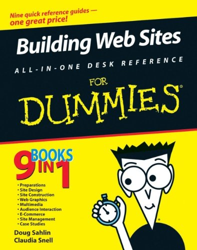 Building Web Sites All-in-one Desk Reference For Dummies By Claudia Snell