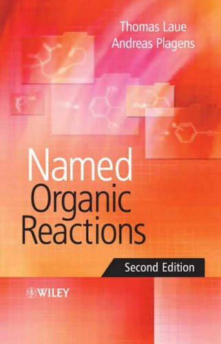 Named Organic Reactions By Thomas Laue