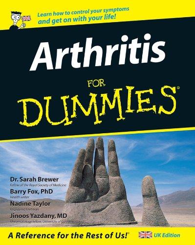 Arthritis For Dummies By Barry Fox