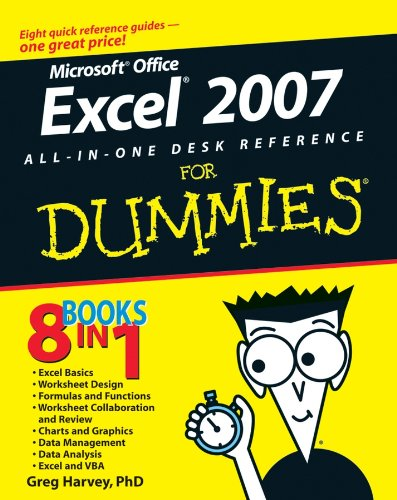 Excel 2007 All-In-One Desk Reference For Dummies By Greg Harvey