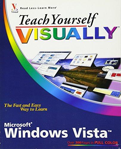 Teach Yourself Visually Windows Vista By Paul McFedries