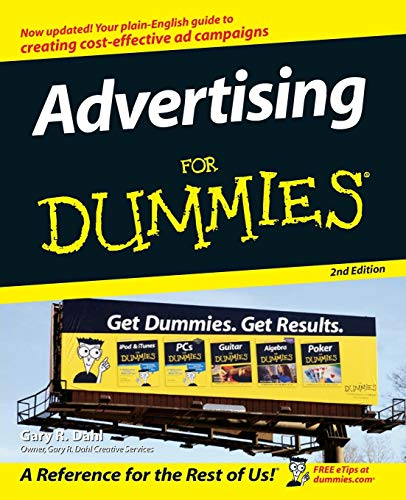 Advertising For Dummies By Gary Dahl