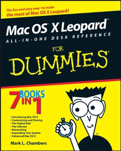 Mac OS X Leopard All-in-one Desk Reference For Dummies By Mark L. Chambers