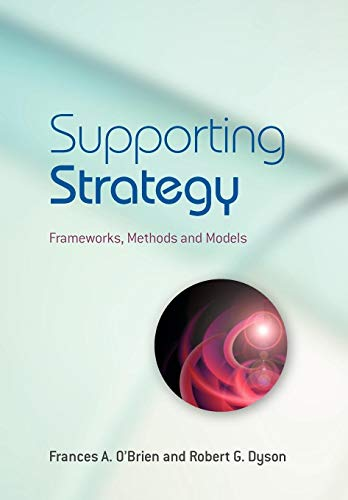 Supporting Strategy By Frances A. O'Brien