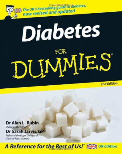 Diabetes For Dummies By Sarah Jarvis