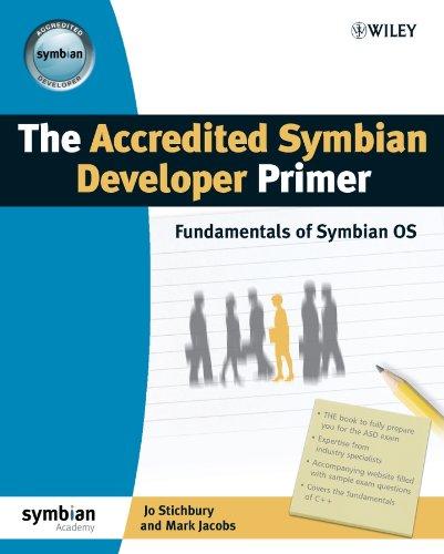 The Accredited Symbian Developer Primer By Jo Stichbury