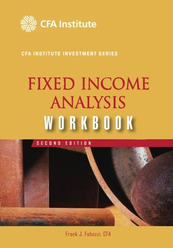 Fixed Income Analysis By Frank J. Fabozzi