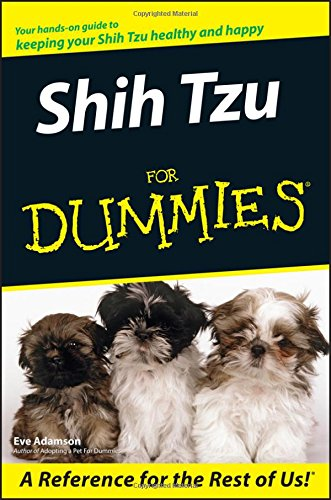 Shih Tzu For Dummies By Eve Adamson