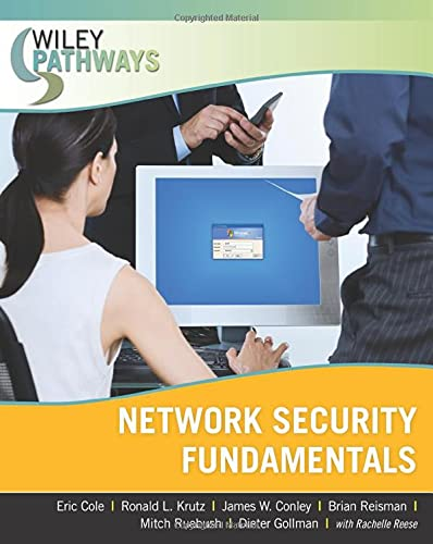 Wiley Pathways Network Security Fundamentals By Eric Cole