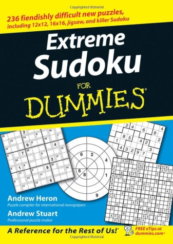 Extreme Sudoku For Dummies By Andrew Heron