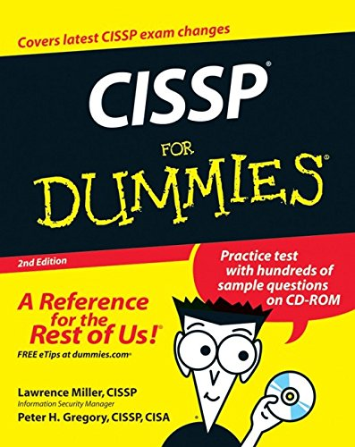 CISSP For Dummies By Lawrence H. Miller