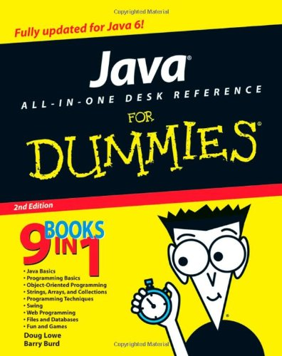 Java All-in-One Desk Reference For Dummies By Doug Lowe