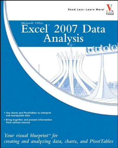 Microsoft Office Excel 2007 Data Analysis By Denise Etheridge