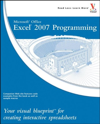 Microsoft Office Excel 2007 Programming By Denise Etheridge