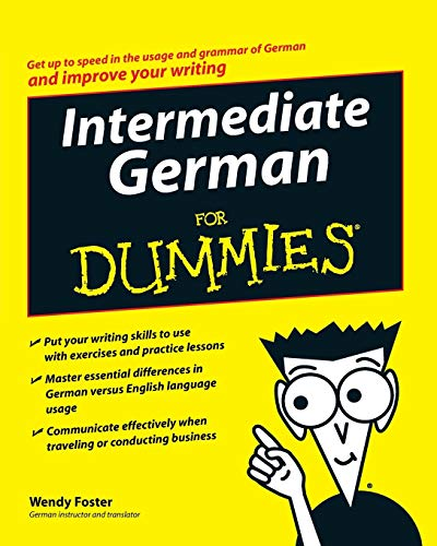 Intermediate German For Dummies By Wendy Foster