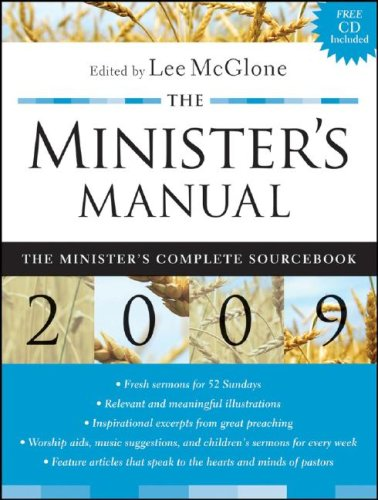 The Minister's Manual By Lee R. McGlone