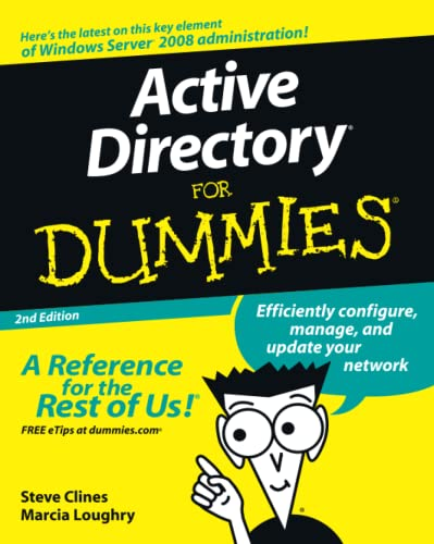 Active Directory for Dummies By Steve Clines