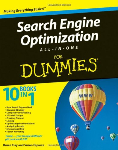 Search Engine Optimization All-in-One Desk Reference For Dummies By Bruce Clay