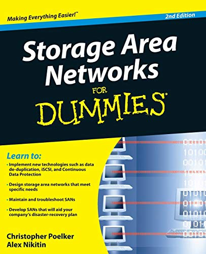 Storage Area Networks for Dummies, 2nd Edition By Christopher Poelker
