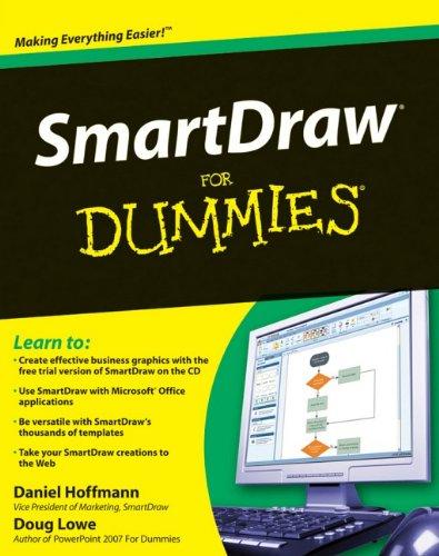 SmartDraw For Dummies By Daniel G. Hoffmann