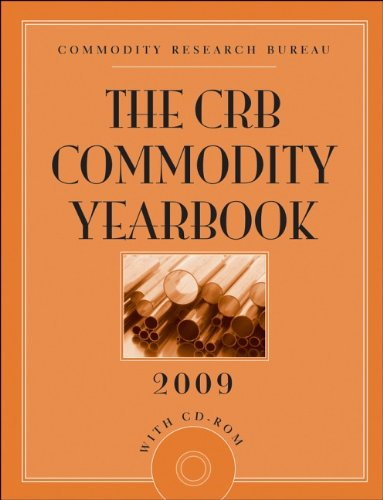 The CRB Commodity Yearbook 2009 By Commodity Research Bureau