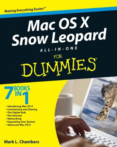 Mac OS X Snow Leopard All-in-one For Dummies By Mark L. Chambers
