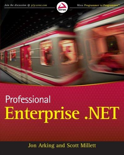 Professional Enterprise.NET By Jon Arking