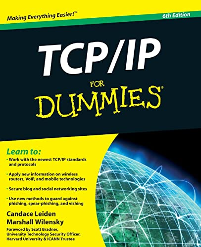 TCP / IP For Dummies By Candace Leiden