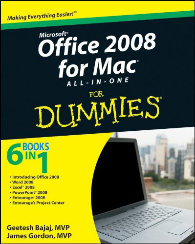 Office 2008 for Mac All-in-One For Dummies By Geetesh Bajaj