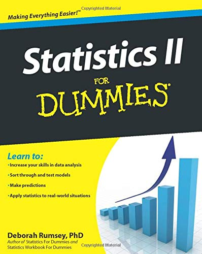 Statistics II for Dummies By Deborah J. Rumsey