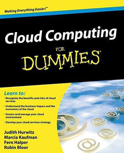 Cloud Computing for Dummies by Judith Hurwitz