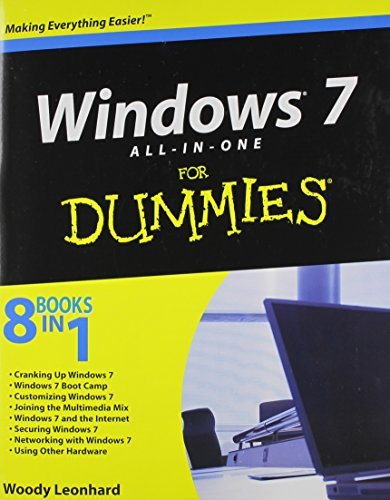 Windows 7 All-in-One For Dummies By Woody Leonhard