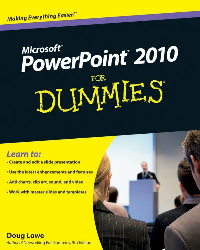 PowerPoint 2010 for Dummies (R) (For Dummies (Computers)) By Doug Lowe