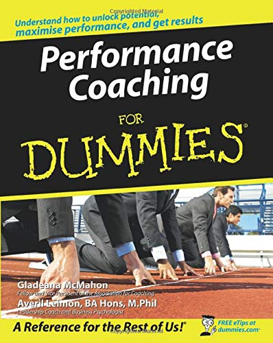 Performance Coaching For Dummies By Gladeana McMahon