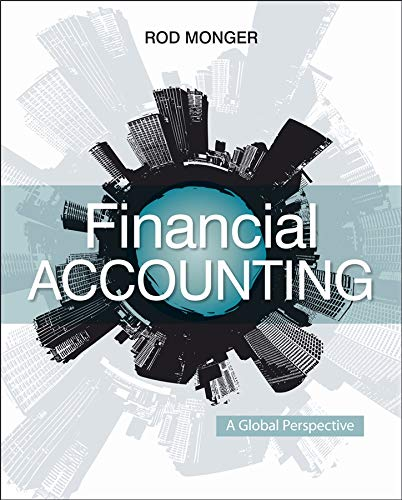 Financial Accounting By Rod Monger