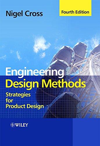 Engineering Design Methods By Nigel Cross